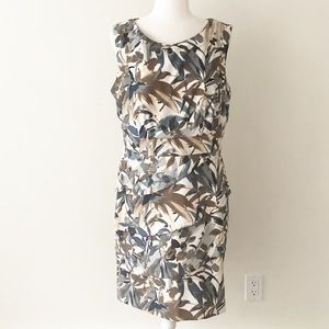 connected apparel | Floral Layered Sheath Dress